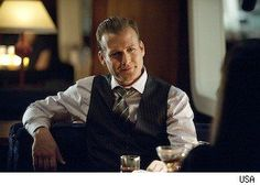 Harvey Specter--Suits. They've been talking about making his hair 'more conventional.' Shenanigans.