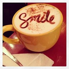 Nothing puts a smile on our face like a delicious cup of coffee! #Coffee #Happy #MrCoffee