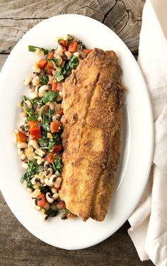 fried speckled trout