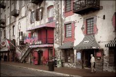 """River Street, Savannah"" by Michael Menendez  -  ""Beauty is all around us. My goal is to create images that invoke a positive emotional response in the viewer. In striving for that I pay close attention to the three elements of subject, design and color.""  You may visit his website at www.PhotoImagesByMichael.com  The artist may be contacted at 732-294-8543 or info@PhotoImagesByMichael.com"