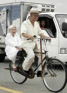 Look at the tiny old lady! http://bike2power.com