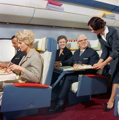Flying Like Royalty on Airplanes: Rare Photos From Swissair Reveal What It Was Really Like to Fly in the 1960s