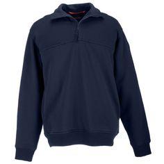 5.11 Tactical Job Shirt 1/4 Zip,Fire Navy,3X-Large
