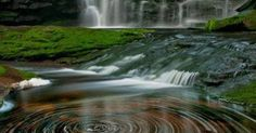 The water spirals of Elakala Waterfalls ~ Blackwater Falls State Park, West Virginia | waterfalls in US | Pinterest | West virginia, Blackwater falls and Parks