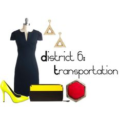 District 6: Transportation, created by checkers007.polyvore.com  Outfit for The Hunger Games, District 6: Transportation.
