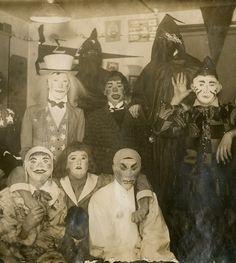 Fotos Antiguas de Halloween que dan miedo