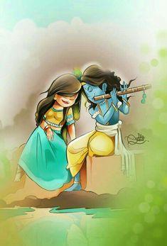 27 Best Hindu Cartoons Images In 2020 Krishna Painting Cute Krishna Radha Krishna Art