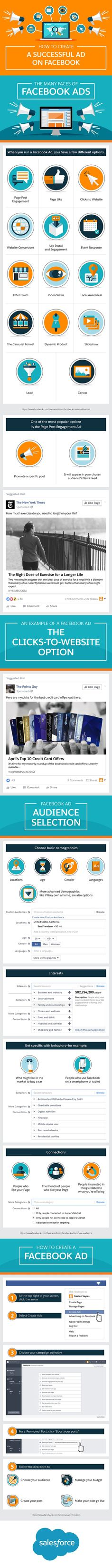Social Media Marketing Tips: How to Create a Successful Ad on Facebook [INFOGRAPHIC]