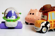 buzz lightyear, cars, disney, pixar, toy story, woody