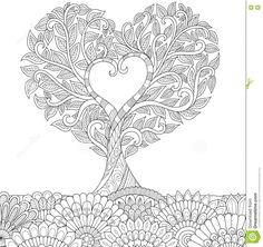 """Képtalálat a következőre: """"adult coloring tree"""""""