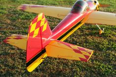 The Yak 55M was first built in the late 1980s based off the original Yak55. It further increased the roll rate and agility to create the aerobatic monster known as the Yak 55M! The Yak 55M like its related Yak 54, has great qualities for both 3d and precision flying. It has very scale features that closely match the original Yak 55M. Aero-Model.com