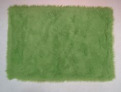 Fun Rugs FLK-004-3958 Flokati Collection LIME GREEN Lime Green - 39 x 58 in.