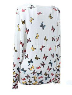 Butterflies Knitting Cardigan