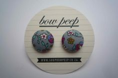 Thanks for visiting the Bow Peep store on Hello Pretty!Bow Peep is an accessories brand what was started in early Button Earrings, Florals, Peeps, Bows, Plants, Accessories, Floral, Arches, Flowers
