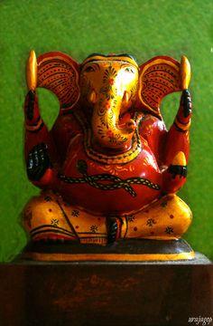 Elephant Headed God- Gananaatha/Ganesha by Uma Rajagopal on 500px