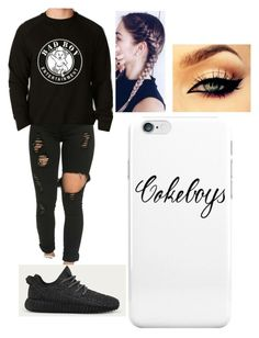 """""""Untitled #446"""" by ilianavaldez on Polyvore featuring adidas"""