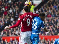 Zlatan Ibrahimovic denies intentional elbow