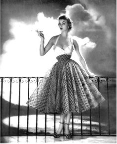 1952 Jean Patchett Dress and Halter Top