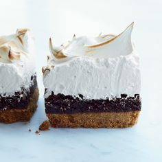 S'mores Bars with Marshmallow Meringue | Food & Wine