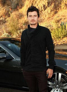 Orlando Bloom At Vanity Fair, Fisker Automotive, Orlando Bloom, and Sebastian Copeland Toast to the Sedna Foundation, 2012 Photo: Rachel Murray/Getty Images