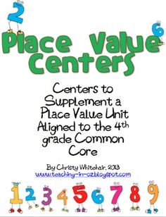 place values matching games and math centers on pinterest. Black Bedroom Furniture Sets. Home Design Ideas