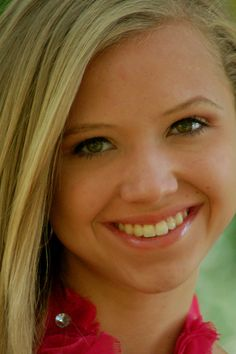 Head Shot example for Natural Pageant