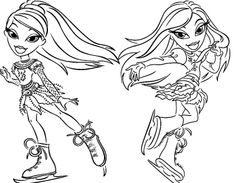 Bratz on Pinterest | Coloring, For Kids and Jade