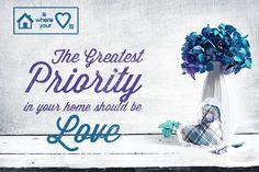 """The greatest priority"