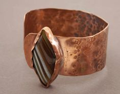 Copper Accessories, Ethnic Chic, Agate Stone, Ethnic Jewelry, Handmade Items, Etsy Handmade, Cuff Bracelets, Rings For Men, Jewels