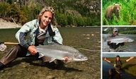 April Vokey. The Queen of Flyfishing