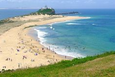 Surfs up at Newcastle& . Image by Benedict Walker / Lonely Planet: Surf& up in Newcastle. Travel Destinations Beach, Places To Travel, Places To See, Travel Oz, Best Beaches To Visit, Australian Beach, Newcastle Nsw, Rock Pools, Largest Countries