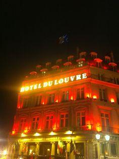 Hotel de Louvre - Paris - Haunted room in 2011