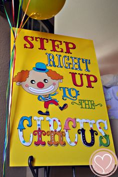 Circus Party: Big Top Baby Shower