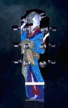 #guitar inlay... gorgeous