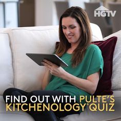 Are you The Illuminator, The Entertainer, or The Chefologist? Try this Kitchenology quiz to find out and then design a kitchen that is perfect for you. Sponsored by Pulte Homes. Pulte Homes, Kitchen Designs, Kitchen Organization, Hgtv, Be Perfect, Kitchen Island, First Love, How To Find Out, Kitchens