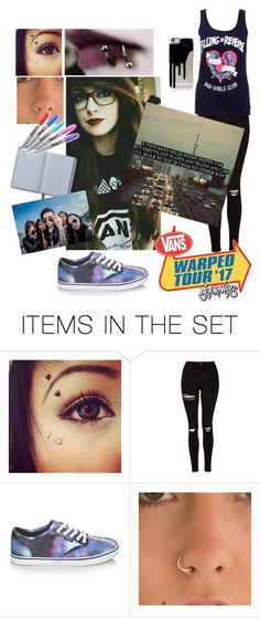 """Warped Tour (Updated)  includes lyrics from Hey There Delilah by The Plain White Ts who will be at warped this year!"" by piercethehorizon12 ❤ liked on Polyvore featuring art"