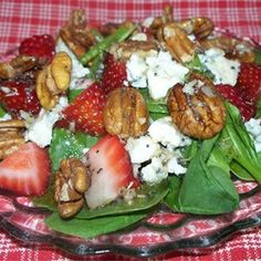Everyone's Favorite Spinach Salad with Poppy Seed Dressing Allrecipes.com