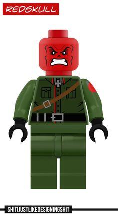 Lego Red Skull concept