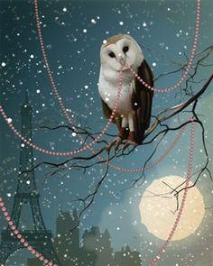 owl from veganlove