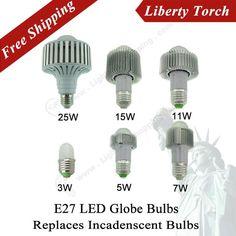 Led Globe Bulbs,110V/220V,Replaces Incandescent bulbs
