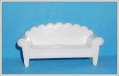 Miniatura feita em resina - 100% pura - pronta para uso - branca R$ 5,78