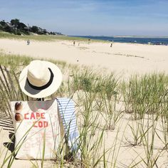 The most perfect beach day with the most perfect beach bag from @maptote  Happy Hump day! #chatham #capecod