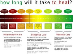 Phases of chiropractic care. Relief care, corrective care, wellness care.