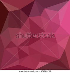 Low polygon style illustration of a begonia pink abstract geometric background. #abstractbackground #lowpolygon #illustration