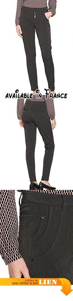 B075NXQ6SH : Cream Kamma Pants-Baily Fit Pantalon Femme Grau (Dark Grey Melange 65016) W31.