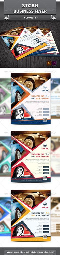 Stcar Business Flyer  v1 - Corporate Flyers