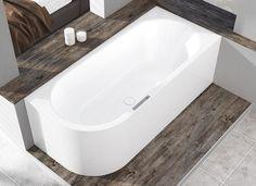 Nach der Markteinführung der freistehenden Badewannen mit vollemaillierter Verkleidung als Meisterstücke-Kollektion erweitert Kaldewei das Konzept für Eck- und Wandinstallation.