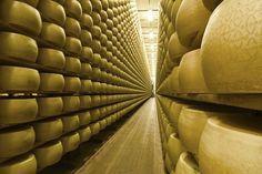 Cascina stagionatura Grana Padano. | LIFE DOP - economia circolare nell'industria casearia d'eccellenza