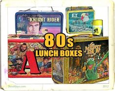 Metal Lunch Boxes :-)
