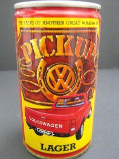 Would you Drink VW Pick Up Lager? Vw Caddy Mk1, Vw Accessories, Vw Logo, Porsche, Audi, Vw Pickup, Vw Cars, Unique Cars, Love Bugs